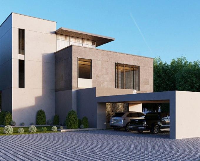 都心に建つ建築家と建てるRC住宅