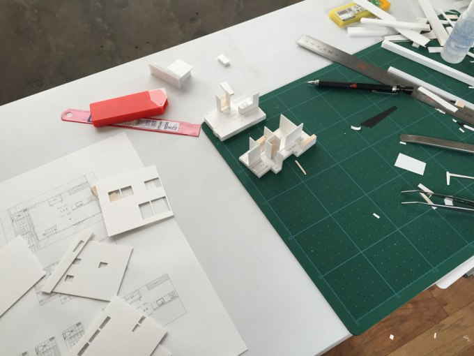 住宅模型の製作 ir-house