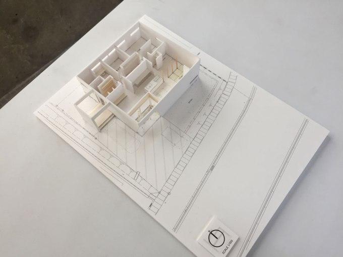 住宅設計 模型 間取り