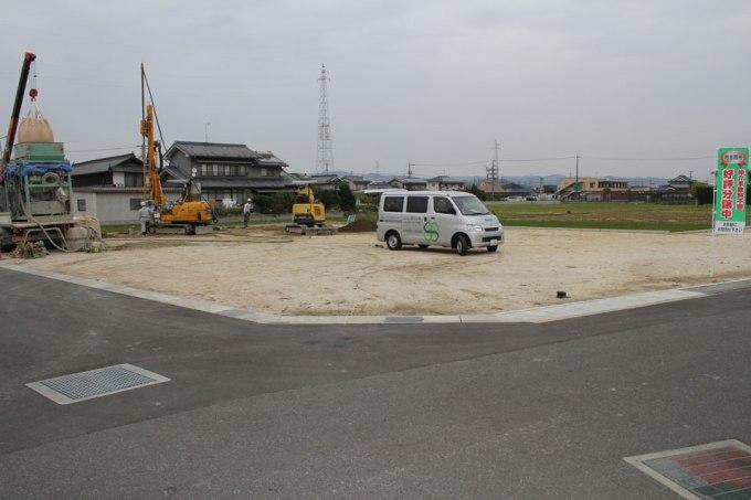 広島県福山の家の計画地