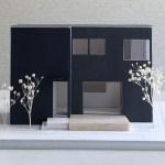 西東京市の狭小地に建つ家