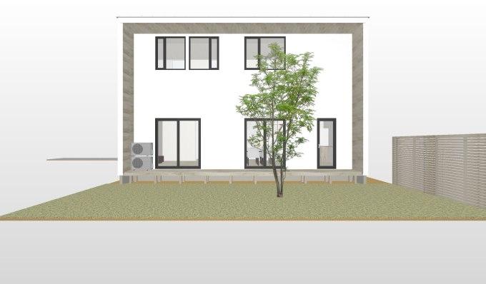 パッシブを考慮したデザインハウス