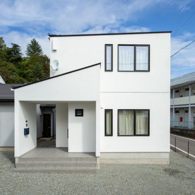 長野で建てる山間のデザイン住宅