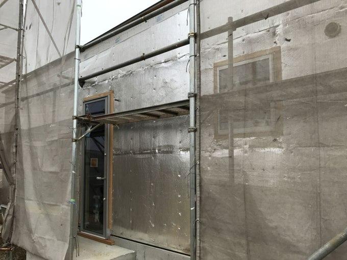 リフレクティックスの外壁施工