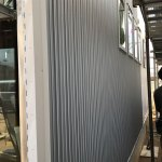 ガルバリウム鋼板(Kスパン)施工開始