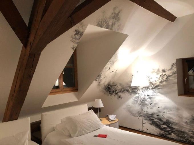 トイフェルホフホテル小屋裏の部屋