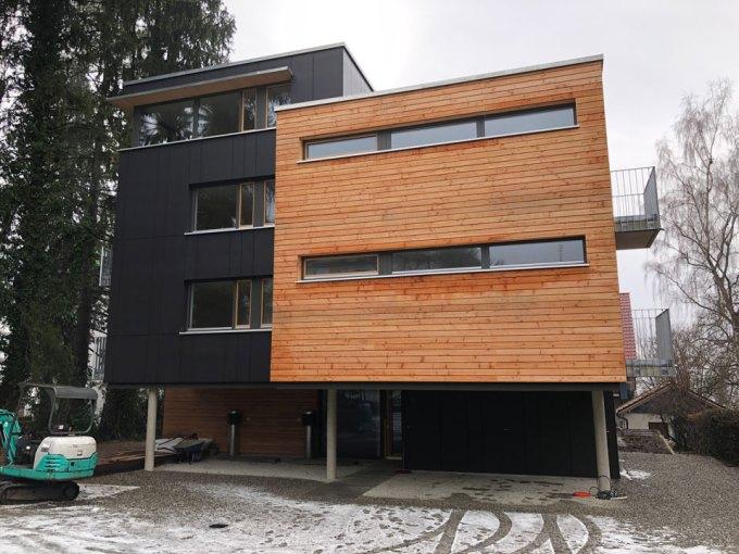 ユーバーリンゲンの集合住宅