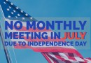 No July Meeting