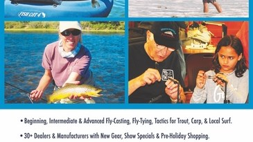 Fly Fishing Fair – Oct 5-6, 2019 Glendale, CA
