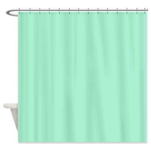 magic mint green shower curtain kawelamolokai com