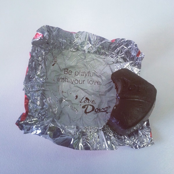 Dove Chocolates, Special Moments, Special Messages