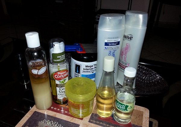 Natural Hair Journey, Products