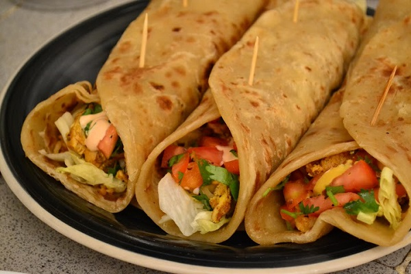 #ThrowBackThursday: Chicken Burritos.