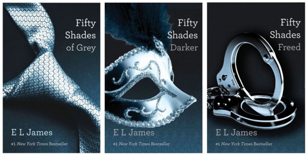 Book Review: Fifty Shades Trilogy by E. L. James.