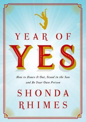 Book Review: Year of Yes by Shonda Rhimes.