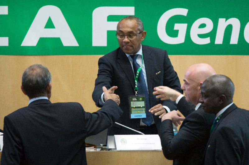 CAF President Ahmad Reportedly Arrested In France Over Corruption
