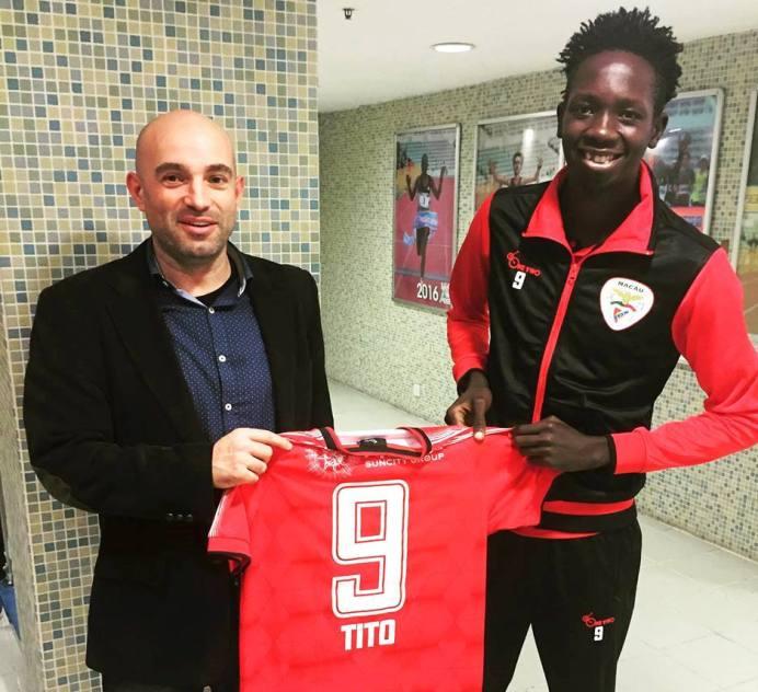 02ced865b24 Striker Tito Okello moves to Macau