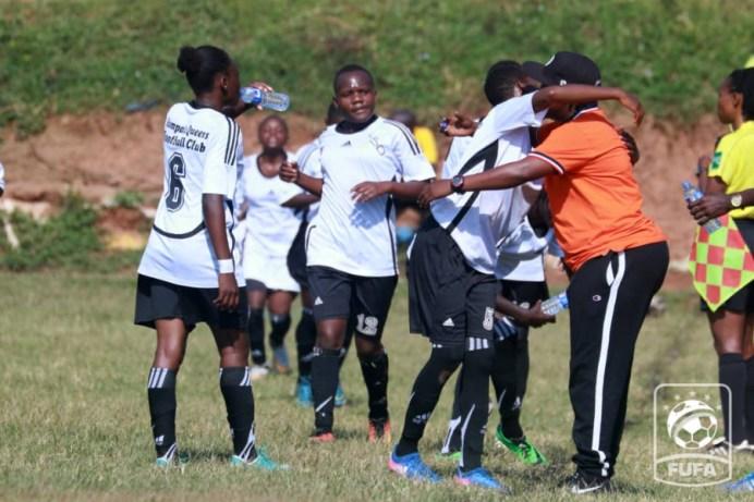 Kampala Queens overcome Uganda Martyrs to secure playoff slot #Uganda kampala queens women football