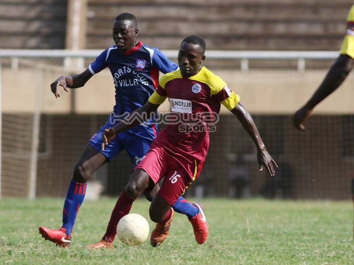 Unfinished business as SC Villa, Ndejje University settle for a goal-less stalemate #Uganda Charles Lwanga closes down Paul Ddumba