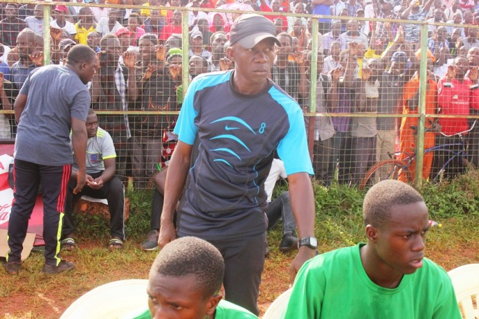 The passionate crowd to push the home team all the way #Uganda Abbey Bogere Kikomeko