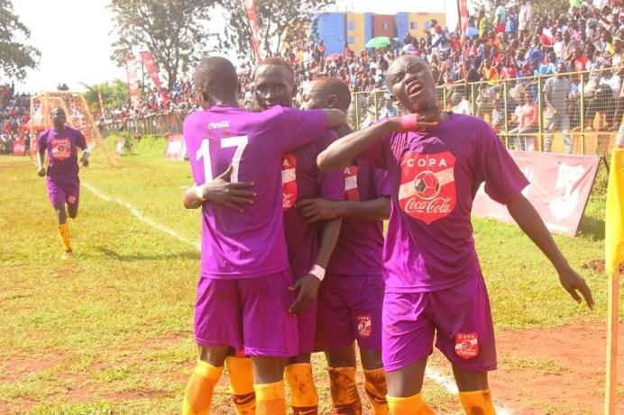 Loki strikes twice to inspire Buddo over JIPRA in first Copa 2019 quarter final duel #Uganda Buddo players celebrate