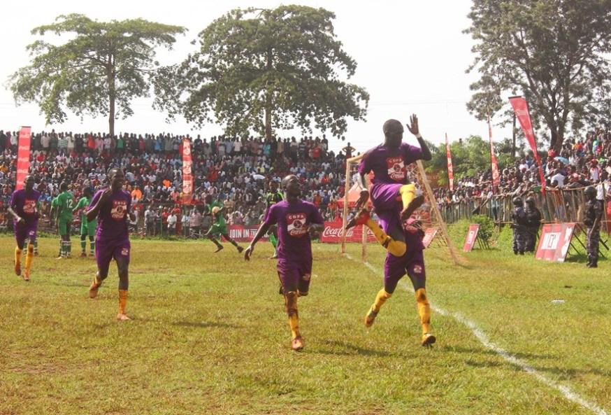 Loki strikes twice to inspire Buddo over JIPRA in first Copa 2019 quarter final duel #Uganda Emmanuel Loki is joined by teammates