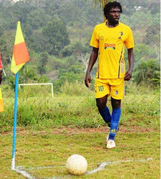 Dead ball specialist passes on #Uganda Jimmy Lule the deadball specialist 1