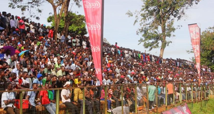 Jinja community wholesomely embraces the enticing copa 2019 football championship #Uganda Kakindu Stadium Northern Wing Copa 2019