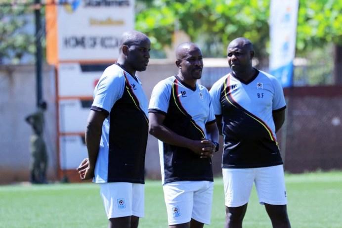Mubiru reaction at first training session, working with Massa and Byekwaso #Uganda Mubiru Massa