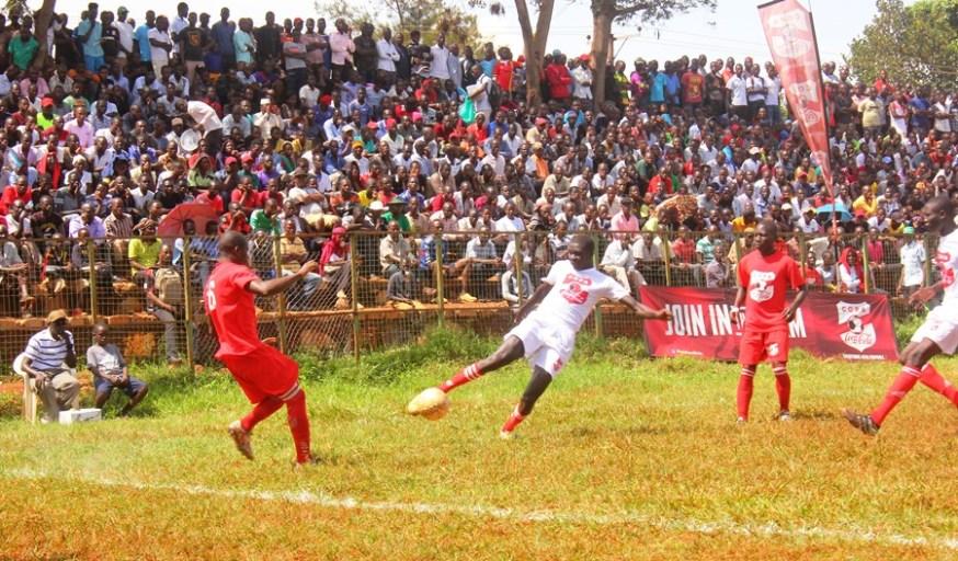 Standard High School Zana completes Wakiso trio to the Copa 2019 semi-finals #Uganda Standard High School Zana defender clears the line