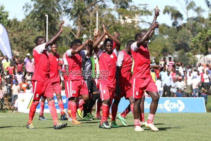 The Slaughters promoted to the Uganda Premier League #Uganda jb kyetume players uplaod fans