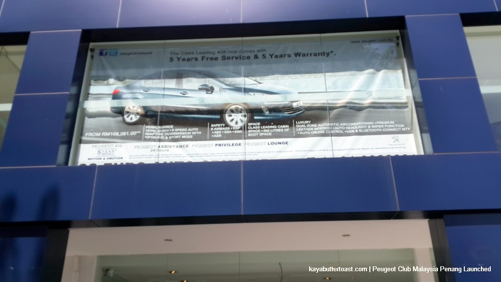 Peugeot Club Malaysia Penang Launched (1)