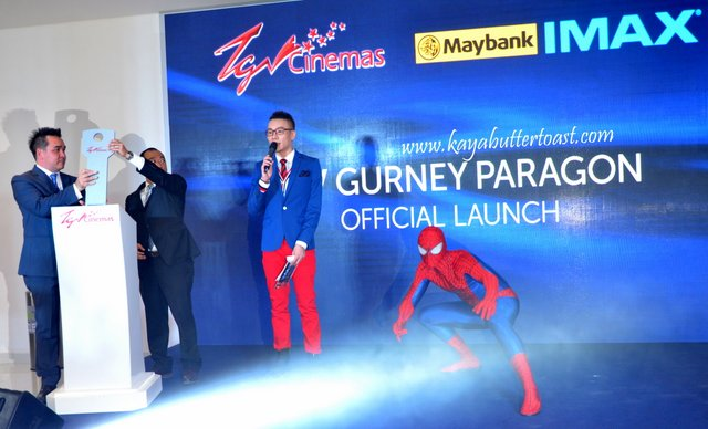 The Launching of TGV Gurney Paragon & Première Screening of The Amazing Spider-Man 2 (11)