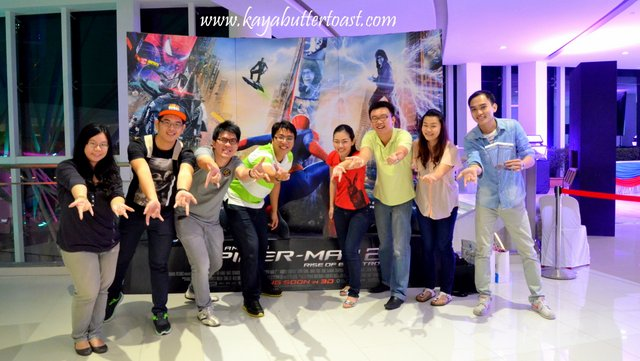 The Launching of TGV Gurney Paragon & Première Screening of The Amazing Spider-Man 2 (19)