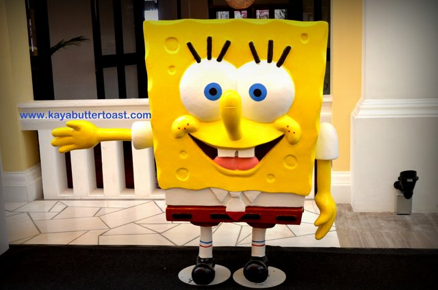 Celebrate Holiday With SpongeBob SquarePants in Gurney Paragon Mall (17)