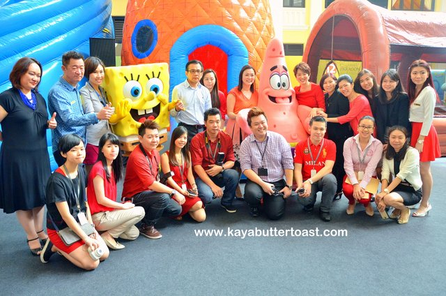 Celebrate Holiday With SpongeBob SquarePants in Gurney Paragon Mall (7)