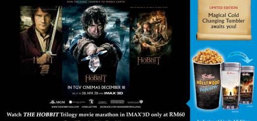 The Hobbit Trilogy Movie Marathon