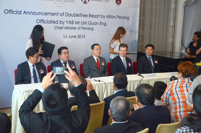 Announcement Press Conference of DoubleTree Resort by Hilton Penang @ 32 Mansion, Georgetown, Penang (12)