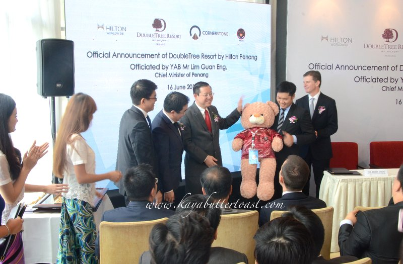 Announcement Press Conference of DoubleTree Resort by Hilton Penang @ 32 Mansion, Georgetown, Penang (13)