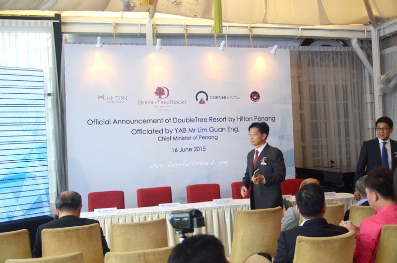 Announcement Press Conference of DoubleTree Resort by Hilton Penang @ 32 Mansion, Georgetown, Penang (6)