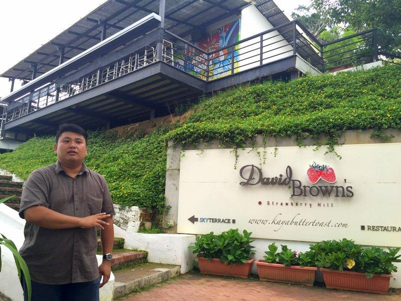 [Buy 1 Free 1 Set] David Brown Restaurant & Tea Terrace @ Penang Hill, Air Itam, Penang (1)