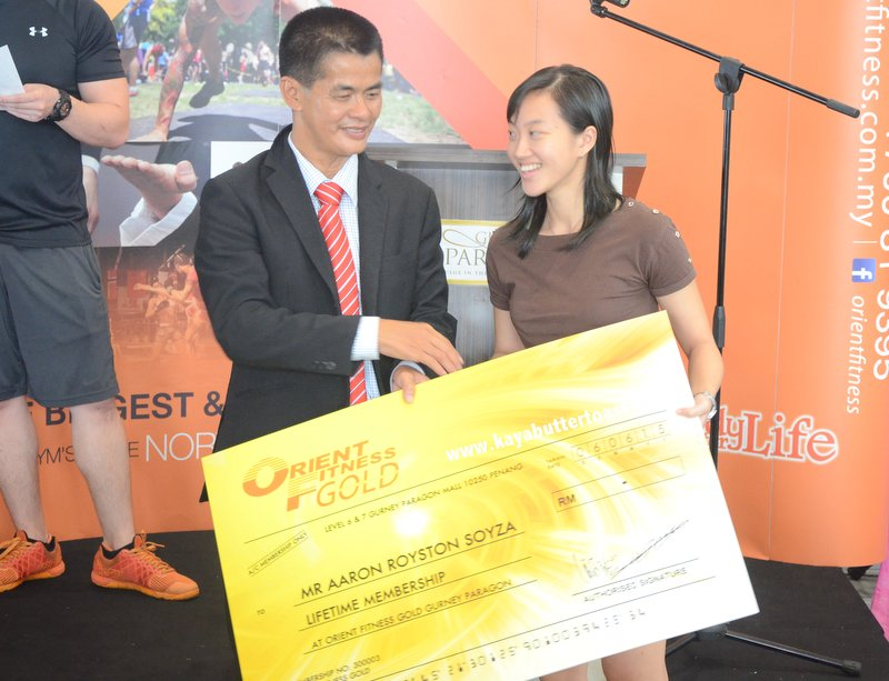 The Launching of Orient Fitness Gold @ Gurney Paragon Mall, Gurney Drive, Penang (24)