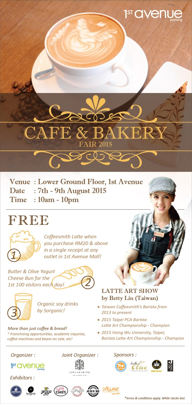 Cake & Bakery Fair @ 1st Avenue, Georgetown, Penang