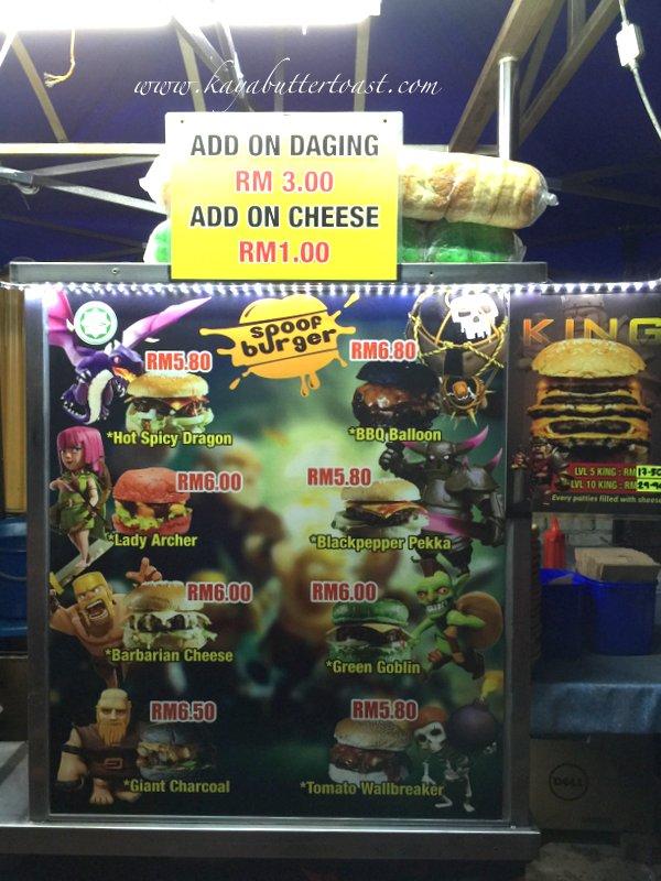 Clash of Clan Spoof Burger aka COC Burger @ Jalan Lembah Permai, Tanjung Bungah, Penang (4)