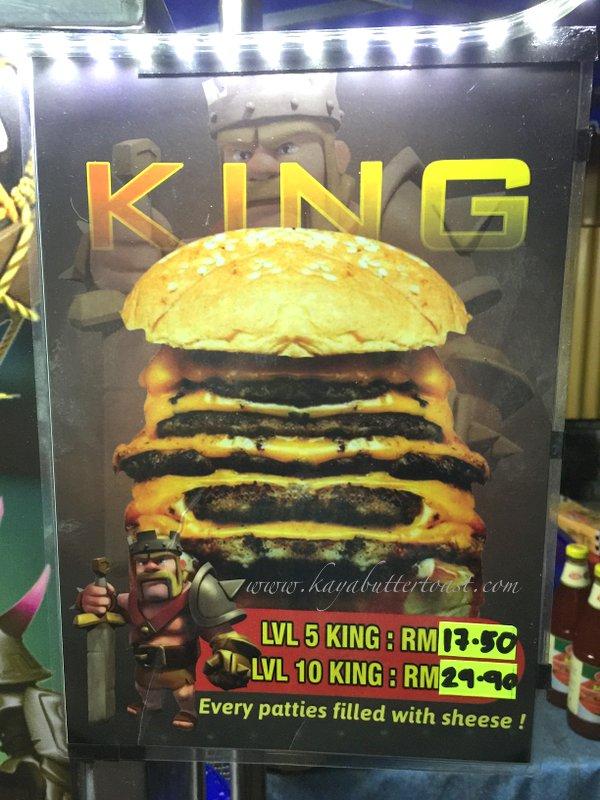 Clash of Clan Spoof Burger aka COC Burger @ Jalan Lembah Permai, Tanjung Bungah, Penang (5)