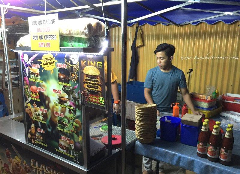 Clash of Clan Spoof Burger aka COC Burger @ Jalan Lembah Permai, Tanjung Bungah, Penang (6)