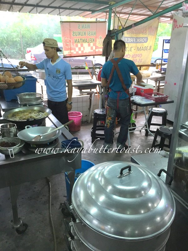 Wan's Nasi Kukus Ayam Berempah Kelantan @ Delimas Mas Coffee Shop, Island Glades, Penang (2)