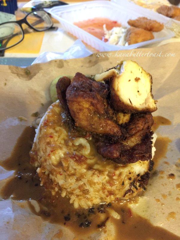 Wan's Nasi Kukus Ayam Berempah Kelantan @ Delimas Mas Coffee Shop, Island Glades, Penang (4)