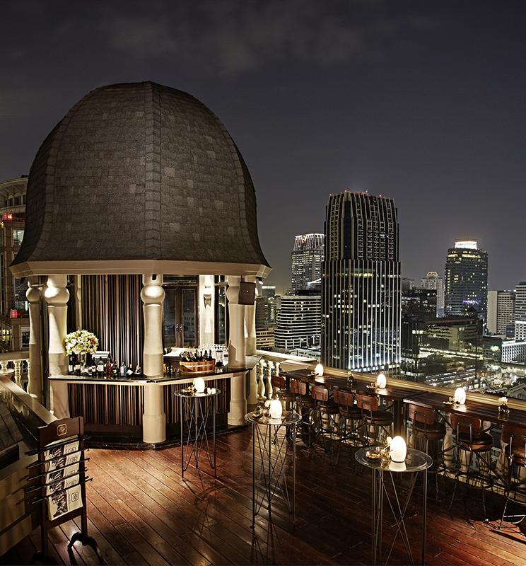 Best speakeasies in Bangkok - Hotel Muse
