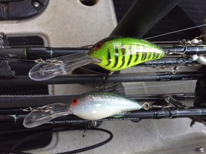 Norman DD22 in Firetiger gel coat and Deep Little N in white green fleck.